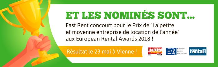 Fast Rent est nominé !